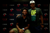 09-21-15 Justise Winslow Meet and Greet