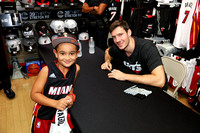09-26-15 Goran Dragic @ The Miami HEAT Store