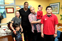 Mario Chalmers Holiday Toy Giveaway at Miami Children's Hospital